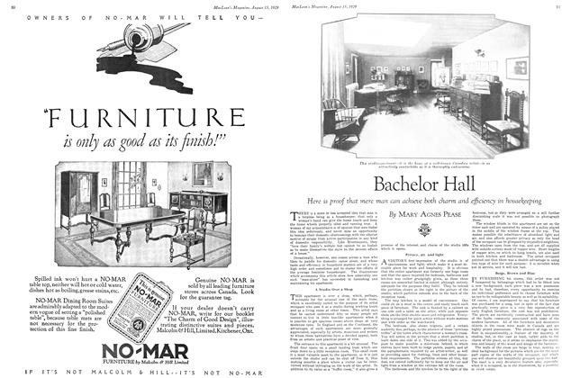 Article Preview: Bachelor Hall, August 1929 | Maclean's