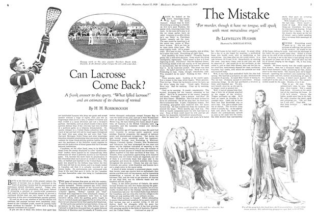 Article Preview: Can Lacrosse Come Back?, August 1929 | Maclean's
