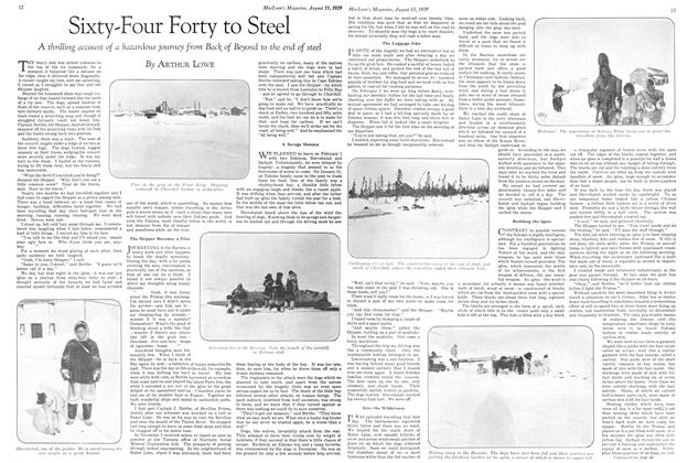 Article Preview: Sixty-Four Forty to Steel, August 1929 | Maclean's