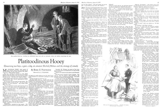 Article Preview: Platitoodinous Hooey, August 1929 | Maclean's