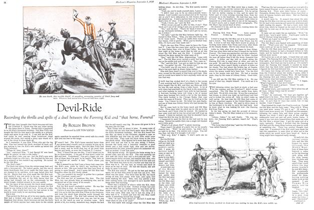 Article Preview: Devil-Ride, September 1929 | Maclean's