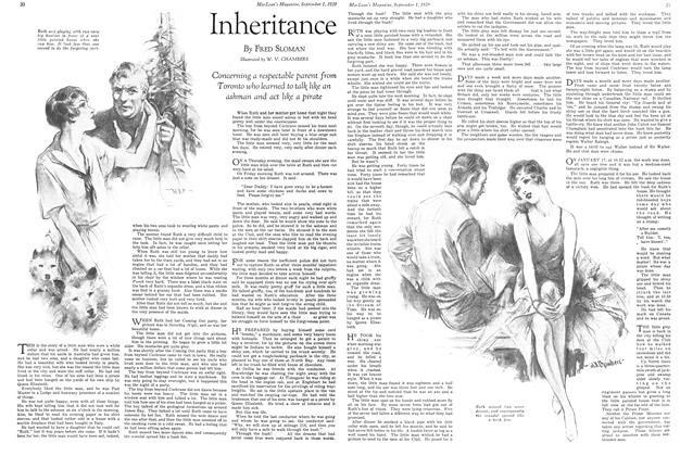 Article Preview: Inheritance, September 1929 | Maclean's