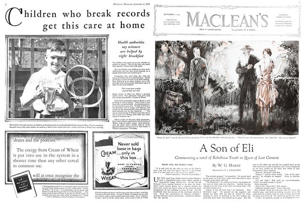 Article Preview: A Son of Eli, September 1929 | Maclean's