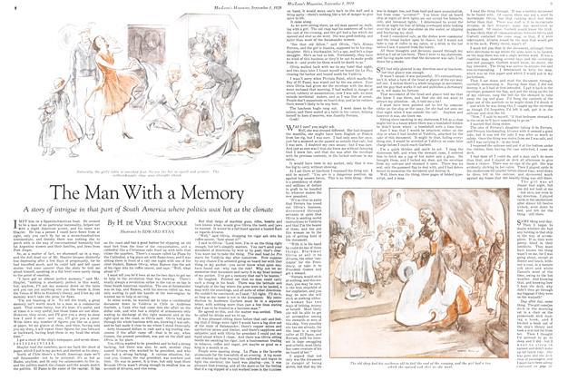 Article Preview: The Man With a Memory, September 1929 | Maclean's