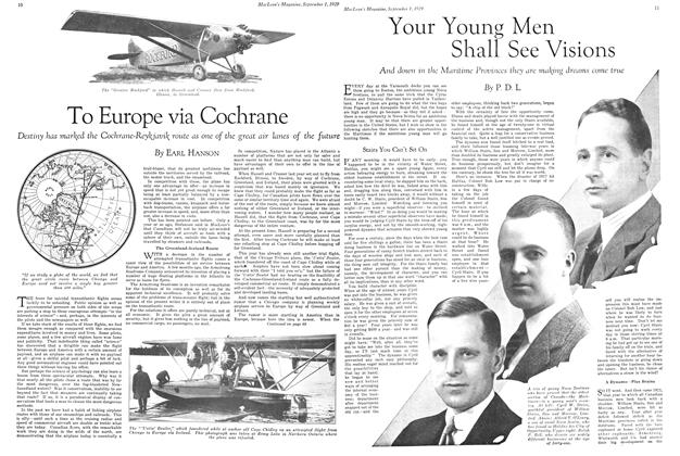 Article Preview: Your Young Men Shall See Visions, September 1929 | Maclean's