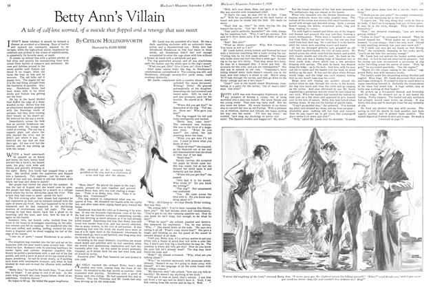 Article Preview: Betty Ann's Villain, September 1929 | Maclean's