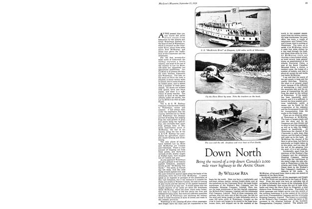 Article Preview: Down North, September 1929 | Maclean's