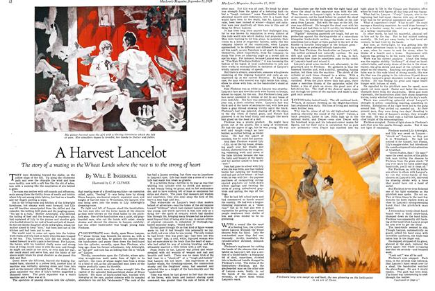 Article Preview: A Harvest Lancelot, September 1929 | Maclean's