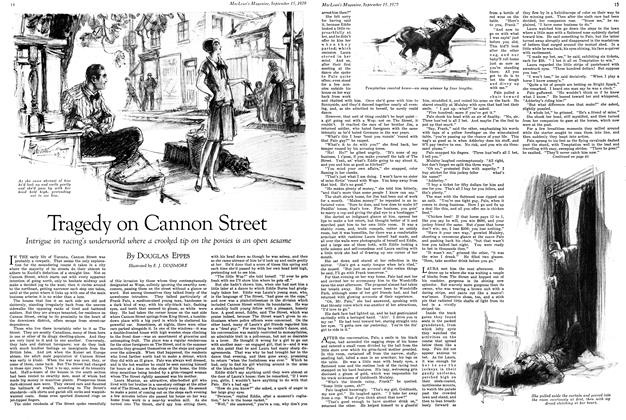 Article Preview: Tragedy on Cannon Street, September 1929 | Maclean's