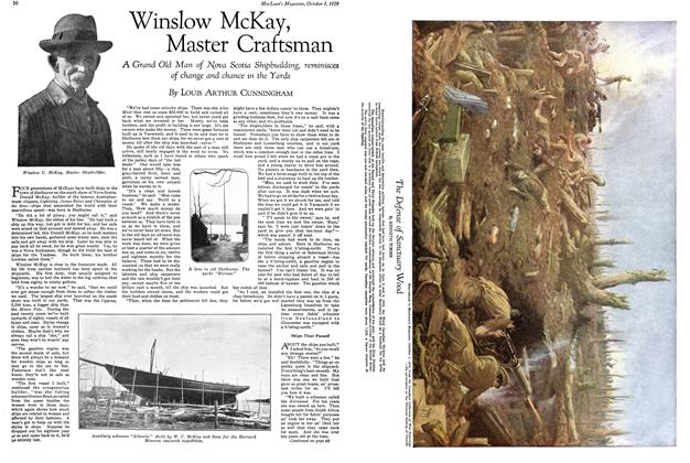 Article Preview: Winslow McKay, Master Craftsman, October 1929 | Maclean's