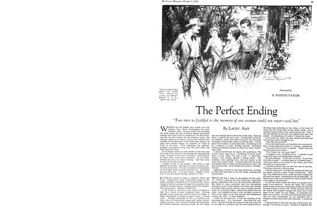 Article Preview: The Perfect Ending, October 1929 | Maclean's
