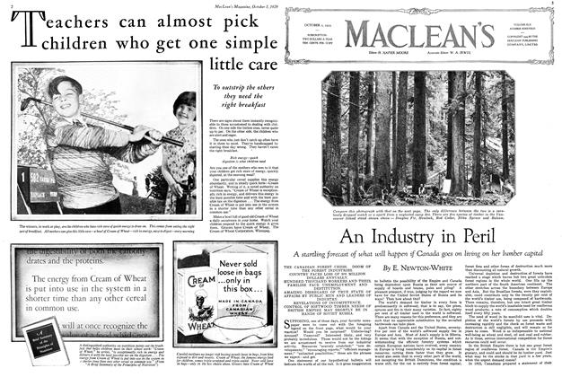 Article Preview: An Industry in Peril, October 1929 | Maclean's
