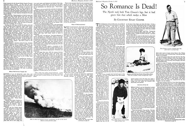 Article Preview: So Romance Is Dead !, October 1929 | Maclean's