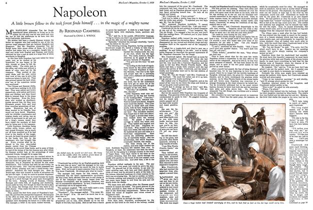 Article Preview: Napoleon, October 1929 | Maclean's