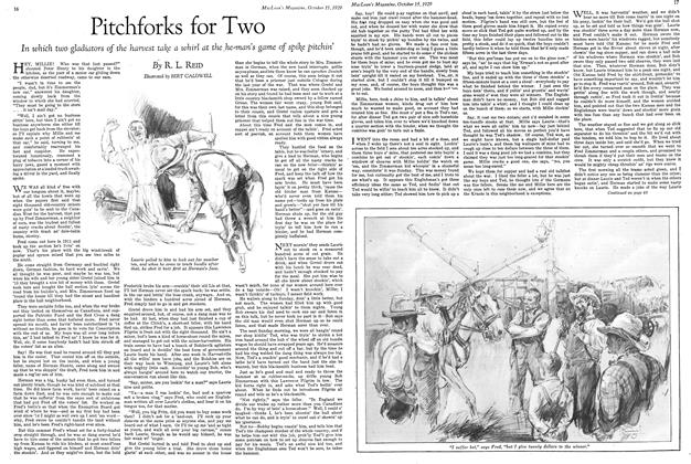 Article Preview: Pitchforks for Two, October 1929 | Maclean's