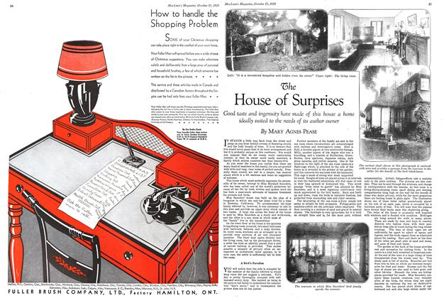 Article Preview: The House of Surprises, October 1929 | Maclean's