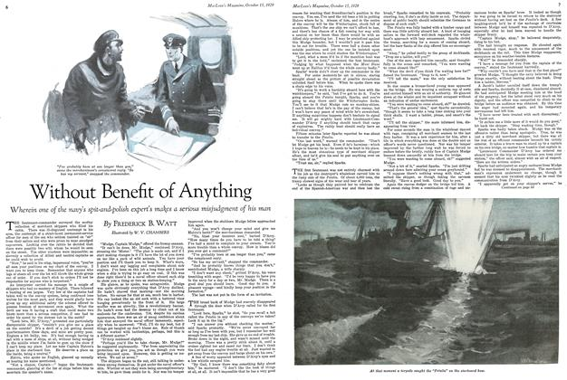Article Preview: Without Benefit of Anything, October 1929 | Maclean's