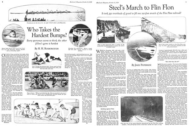 Article Preview: Steel's March to Flin Flon, October 1929 | Maclean's