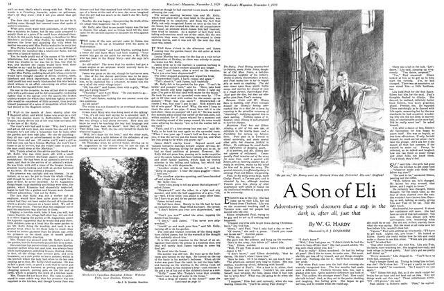 Article Preview: A Son of Eli, November 1929 | Maclean's