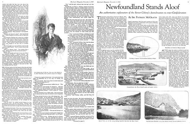 Article Preview: Newfoundland Stands Aloof, November 1929 | Maclean's