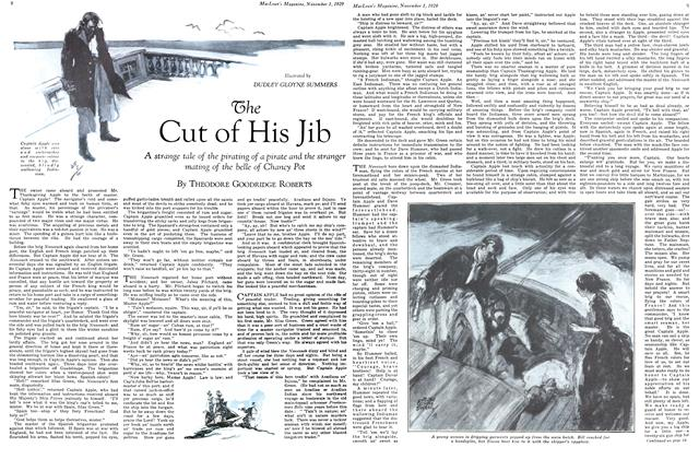 Article Preview: The Cut of His Jib, November 1929 | Maclean's