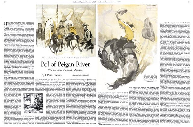 Article Preview: Pol of Peigan River, November 1929 | Maclean's