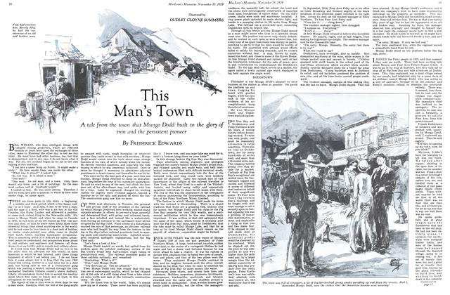Article Preview: This Man's Town, November 1929 | Maclean's