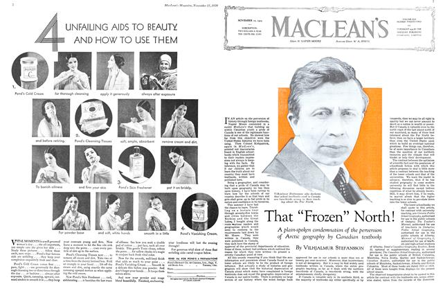 "Article Preview: That ""Frozen"" North!, November 1929 