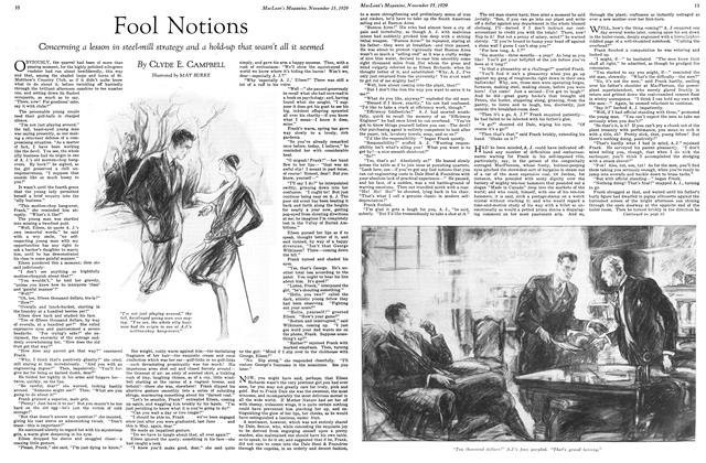 Article Preview: Fool Notions, November 1929 | Maclean's