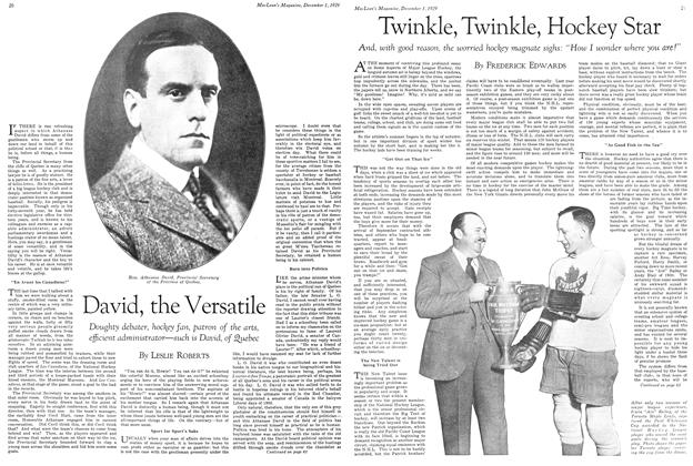 Article Preview: Twinkle, Twinkle, Hockey Star, December 1929 | Maclean's
