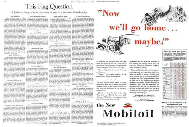 Article Preview: This Flag Question, December 1929 | Maclean's