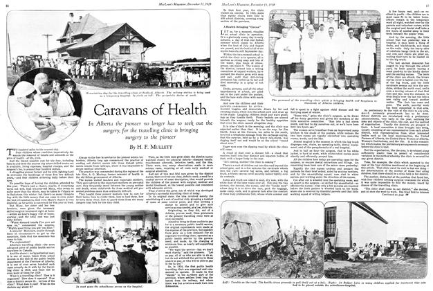 Article Preview: Caravans of Health, December 1929 | Maclean's