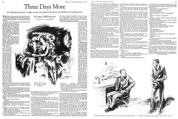 Article Preview: Three Days More, December 1929 | Maclean's