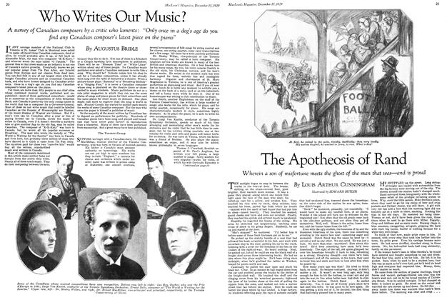 Article Preview: Who Writes Our Music?, December 1929 | Maclean's