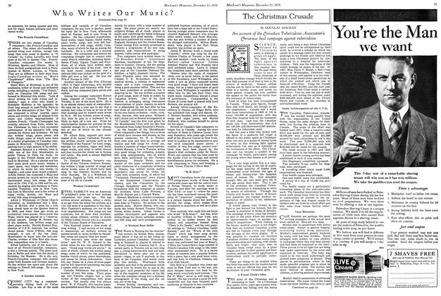 Article Preview: The Christmas Crusade, December 1929 | Maclean's