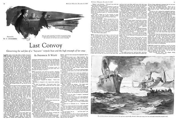 Article Preview: Last Convoy, December 1929 | Maclean's