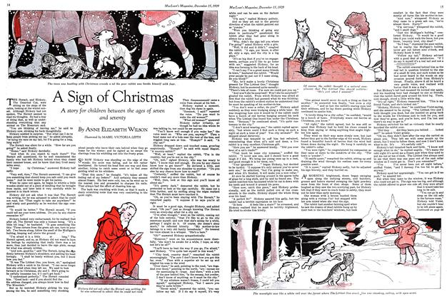 Article Preview: A Sign of Christmas, December 1929 | Maclean's