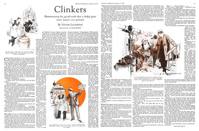 Article Preview: Clinkers, January 1930 | Maclean's