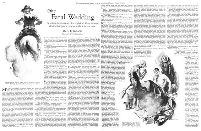 Article Preview: The Fatal Wedding, January 1930 | Maclean's