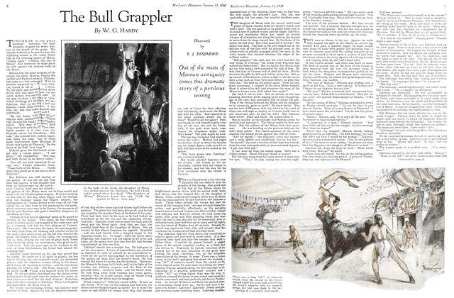 Article Preview: The Bull Grappler, January 1930 | Maclean's