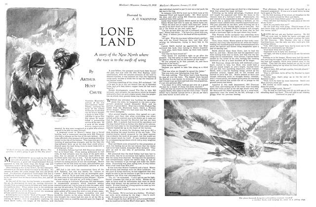 Article Preview: LONE LAND, January 1930 | Maclean's