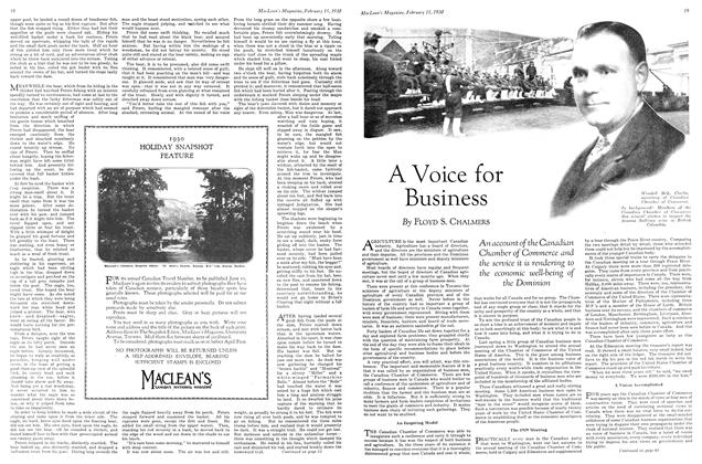 Article Preview: A Voice for Business, February 1930   Maclean's