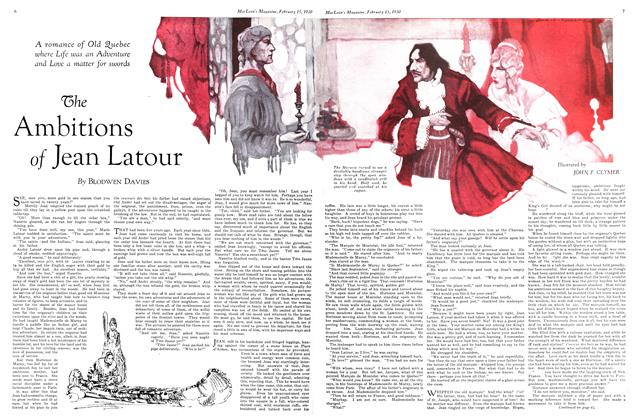 Article Preview: The Ambitions of Jean Latour, February 1930 | Maclean's