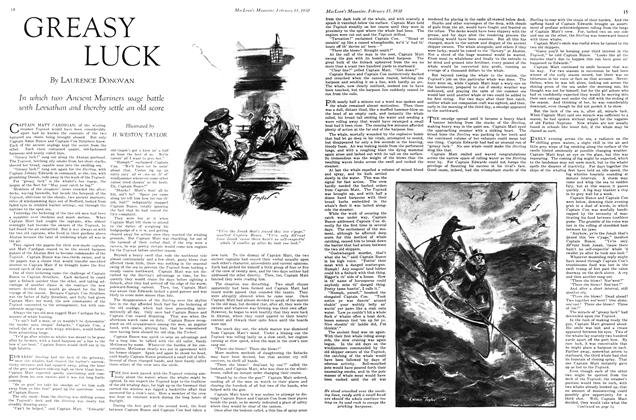 Article Preview: GREASY LUCK, February 1930 | Maclean's