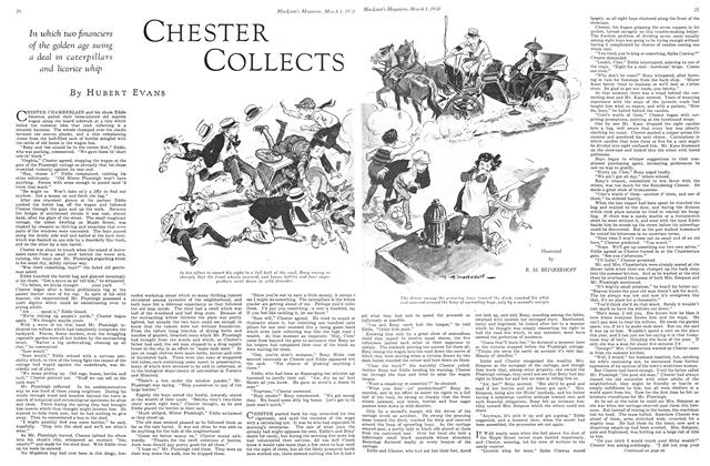 Article Preview: CHESTER COLLECTS, March 1930 | Maclean's