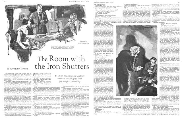 Article Preview: The Room with the Iron Shutters, March 1930 | Maclean's