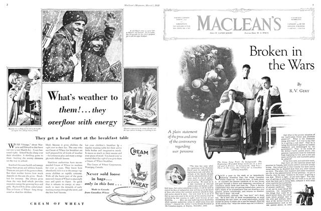 Article Preview: Broken in the Wars, March 1930 | Maclean's