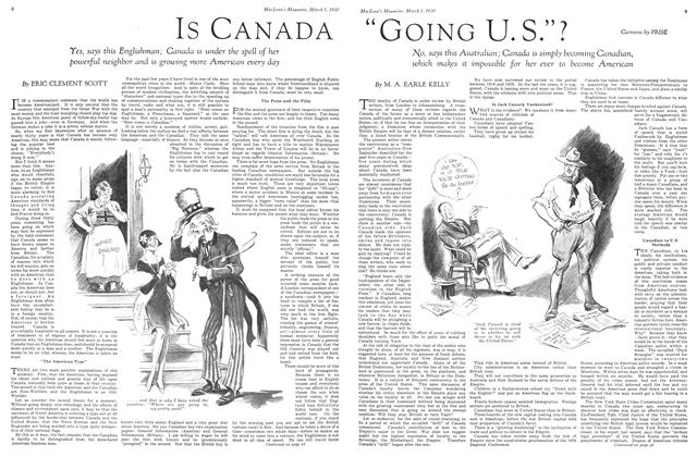 "Article Preview: ""GOING U.S.""?, March 1930 