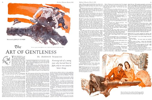 Article Preview: The ART OF GENTLENESS, March 1930 | Maclean's
