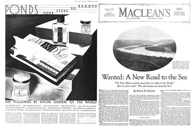 Article Preview: Wanted: A New Road to the Sea, March 1930 | Maclean's